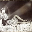 BETTY FIELD Sexy HAYSTACK Pose Hal Roach Original PHOTO Press snipe JANE RUSSELL