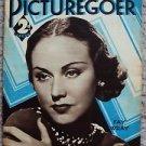FAY WRAY Picturegoer MAGAZINE Thin Man MYRNA LOY William Powell GRETA GARBO 1934
