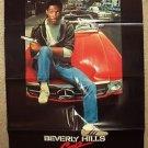 BEVERLY HILLS COP Original EDDIE MURPHY 1-Sheet Movie POSTER Mercedes-Benz 1984