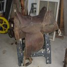 Old Leather Saddle w/out roping horn