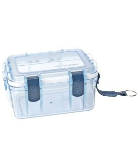 NEW Outdoor Products Small S Clear Polycarbonate Locking Watertight Box