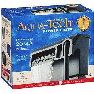 NIB Aqua Tech Power Filter Pump for 20-40 Gallon Aquariums Fish Tanks Filtration