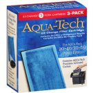 NIB Aqua Tech EZ-Change #3 Aquarium 20/40-30/60 Pump Filter Cartridge 3 pack