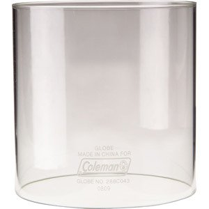 "NIB Coleman Clear Lantern Replacement Globe R214D046C 4 1/4"" Dia x 4 1/2"" Tall"