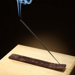 Elegant Expressions by Hosley Soapstone Incense Stick Holder Burner Ash Catcher