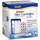 Tetra Whisper L Large Aquarium Fish Tank Replacement Filter Cartridge 8 pack