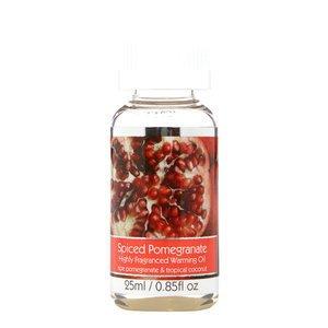 Elegant Expressions Fragrance Spiced Pomegranate Hot Oil Burner .85 fl oz