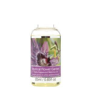 Elegant Expressions Fragrance Mystical Flower Garden Hot Oil Burner .85 fl oz