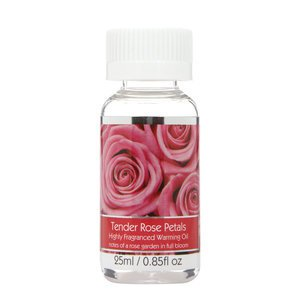Elegant Expressions Fragrance Tender Rose Petals Hot Oil Burner .85 fl oz
