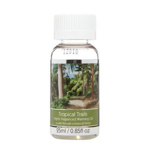 Elegant Expressions Fragrance Tropical Trails Hot Oil Burner .85 fl oz 25 ml