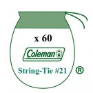 60 Coleman Liquid Fuel Lantern 21 Sock Style String Tie Mantles 15-4 Pk 21A104