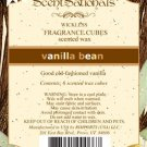 ScentSationals Vanilla Bean Home Fragrance Scented Wax Melt Cubes for Burners