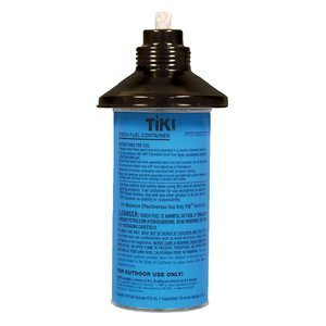 Tiki Torch Replacement Citronella Canister Lamplight Fiberglass Wick Included