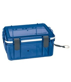 NEW Outdoor Products Large L Polycarbonate Locking Watertight Box Red or Blue