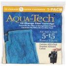 Aqua Tech 5-15 #1 EZ Change Replacement Filter Cartridges For Power Filters 1 Pk