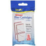 NEW Tetra Whisper Small Aquarium Filter Cartridge 2pk 1-3I Internal and 1.5 Gal