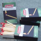 NEW Coleman Waterproof Safety Emergency Matches Camping Hiking 4 Pk 160 Matches