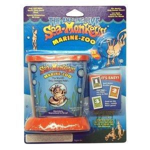 NEW Amazing Live Sea Monkeys Marine Zoo Tank Starter Science Kit Blister Pack