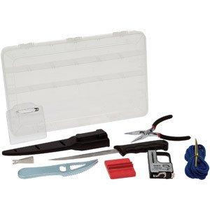 Berkley 10 Piece Combo Kit Fish Fillet Knife Scaler Scale Stringer Pliers