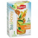 NEW Lipton Beverage Tea & Honey Green Tea to Go Mango Pineapple Iced Tea Mix