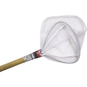 NEW Berkley Bait Well Net Wood Handle Fishing Camping Boating