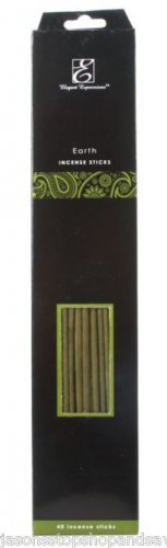 NEW Elegant Expressions by Hosley Fragrance Earth Incense Sticks 30 Piece