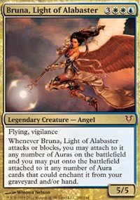 Magic The Gathering - Avacyn Restored - 208 - Bruna, Light of Alabaster