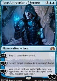 Magic The Gathering - Shadows Over Innistrad - 069 - Jace, Unraveler of Secrets