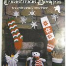 Leisure Arts Christmas Designs to Knit & Crochet 129