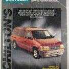 Chiltons Chrysler 1984-1995 Service Manual