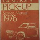Nissan Datsun Pickup Service Manual 1976