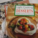 Light Cooking Cookbooks Set of 3