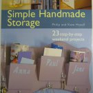 Simple Handmade Storage By Philip and Kate Haxel
