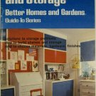 Bookshelves and Storage