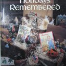 Holidays Remembered Cross Stitch Book 5