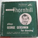 Claude Thornhill George Gershwin for Dancing 45 RPM Record Set