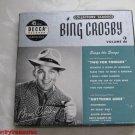 Bing Crosby Volume II 45 RPM Record Set