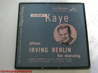 Sammy Kaye Irving Berlin 45 RPM Record Set