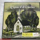 Hymns of all Churches 45 RPM Record Set