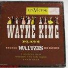 Wayne King Plays Brahms 45 RPM Record Set