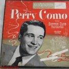 Perry Como 45 RPM Record Set