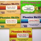 Vintage Phonics Skills Books Practice in Basic Skills
