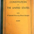 The Constitution of The United States and Analysis