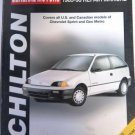 Chilton GM Metro Sprint 1985-93 Repair Manual
