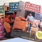Lot of Norm Abram The New Yankee Workshop Books