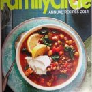 Family Circle Annual Recipes 2014 First Edition