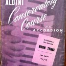 Aldini Conservatory Course for the Accordian No 8612 1954