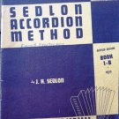 Sedlon Accordion Method Accordion Book 1-B 1953