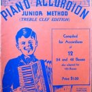 Zordan's Piano Accordion Junior Method 1937