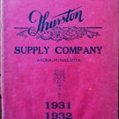 Thurston Supply Company Catolog 1931-1932